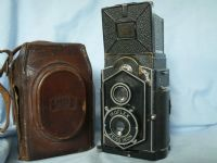 '   850/16 Ikoflex ' Zeiss Ikon Ikoflex 850/16 Vintage TLR Camera Cased  -COFFEE CAN- £99.99